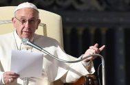 29/10/2020 –El Papa Francisco pidió al pueblo europeo que vuelva a tomar impulso y que deje de mirar a su pasado con nostalgia…