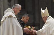 05/11/2020 –El Papa Francisco modificó, a través del Motu Proprio Authenticum Charismatis, el canon 579 del Derecho Canónico para establecer que los Obispos…