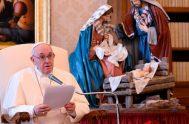 16/12/2020 –El Papa Francisco subrayó, durante la Audiencia General celebrada este miércoles 16 de diciembre en la Biblioteca del Palacio Apostólico del Vaticano,…