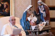 23/12/2020 –Como cada miércoles, esta mañana el Pontífice ha celebrado su Audiencia General y ha pronunciado una catequesis propia para este tiempo en…