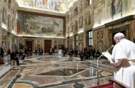 04/11/2020 –El Papa dio la bienvenida a los nuevos embajadores acreditados ante la Santa Sede a quienes ofreció sus mejores deseos y les…