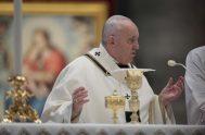 06/01/2021 – Hoy,6 de enero, Solemnidad de la Epifanía del Señor, el Papa Francisco presidió la Santa Misa en la Basílica de San…