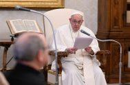 10/02/2021 –En la audiencia general de este miércoles 10 de febrero, el Papa Francisco alentó a rezar cada día y en cada momento,…