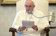 17/03/2021 – El Papa Francisco continuó hoy con sus catequesis acerca de la oración, en el marco de su tradicional audiencia general de…