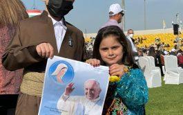 07/03/2021 – Al final de su tercera jornada en Iraq, el Papa Francisco celebró la Santa Misa en el Estadio…