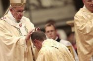 20/04/2021 –El Papa Francisco presidirá la ordenación sacerdotal de nueve diáconos de la Diócesis de Roma el próximo 25 de abril, Domingo del…