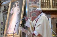 08/04/2021 –El Papa Francisco recordó que el próximo Domingo 11 de abril, segundo Domingo de Pascua, la Iglesia celebrará la Fiesta de la…