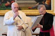 14/04/2021 –Durante la audiencia general de este miércoles 14 de abril, el Papa Francisco destacó que la tarea esencial de la Iglesia es…