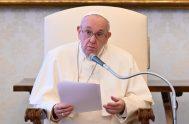 21/04/2021 –El Papa Francisco reflexionó durante la Audiencia General de este miércoles 21 de abril sobre la oración vocal, una oración que ayuda…
