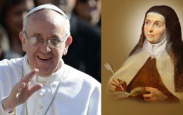 """16/04/2021 –El Papa envía un videomensaje al Congreso Internacional """"Mujer Excepcional"""" dedicado a Santa Teresa de Ávila, que finaliza hoy…"""