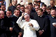 11/06/2021 –El Papa Francisco recibióa miembros del Seminario Pontificio Pío XI de Las Marcas en Italia. Con ellos compartió importantes consejos prácticos para…