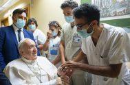 20/07/2021 –El Papa Francisco agradeció a todos los empleados del Policlínico Gemelli de Roma por los cuidados recibidos durante su ingreso hospitalario, desde…