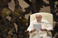 04/08/2021 –Tras una breve pausa en el mes de julio, el Papa Francisco ha reanudado esta mañana su tradicional Audiencia General de los…