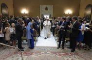 27/08/2021 –El Papa Francisco se ha encontrado hoy con los miembros de la Red Internacional de Legisladores Católicos y les ha comunicado los…