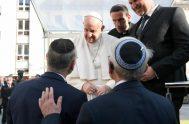 13/09/2021 –El Papa Francisco se reunió con la comunidad judía en Eslovaquia este 13 de septiembre, en el segundo día de su visita…