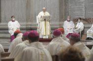"""24/09/2021 –El Papa Francisco alentó a abrir """"el apetito de la fe"""" y despertar """"esa sed que hay en el corazón"""" de cada…"""