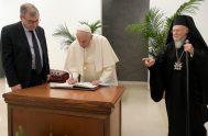 """07/10/2021 –El Papa Francisco instituyó este 7 de octubre un ciclo de estudios sobre """"Ecología y Ambiente. Cuidado de nuestra casa común y…"""