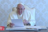 14/10/2021 – Videomensaje del Santo Padre con motivo del 57º Coloquio de la Fundación IDEA, celebrado en Buenos Aires en el Centro Costa…
