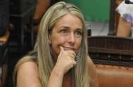 """01/04/2014 - La concejal radical María Eugenia Schmuck dijo que """"tenemos una situación que merece que le demos la gravedad que se merece""""."""