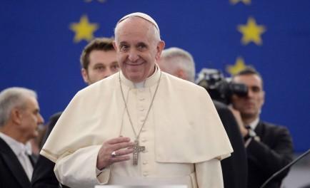 26-11-2014 El Papa Francisco visitó ayer el Parlamento Europeo y el Consejo de Europa para abogar en el viejo continente por la tolerancia, contra la xenofobia y por la justicia social frente…