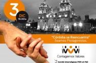 03/12/2014 – En la explanada de la Catedral de Córdoba, ubicada en inmediaciones de plaza San Martín, el COMIPAZ (Comité Interreligiso por…