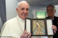12/12/2014 – Hoy la Iglesia festeja el día de la Patrona de América Latina, la Bienaventurada Virgen María de Guadalupe, motivo por el…