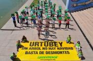 10/12/2014- Greenpeace y otras organizaciones sociales denunciaron a Salta por un proceso sistemático de modificación de las zonas donde está prohibido deforestar. Mediante…