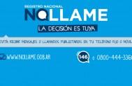 15/01/2015 -El Registro Nacional No llame rige desde la semana pasada en todo la Argentina y apunta a que los números allí registrados…