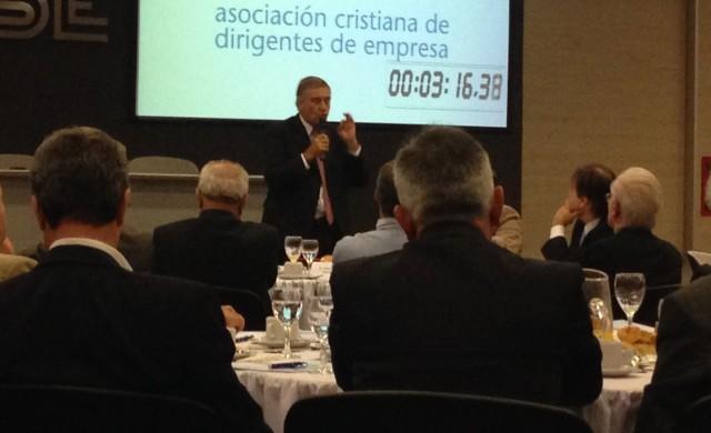 Oscar Aguad, candidato a gobernador