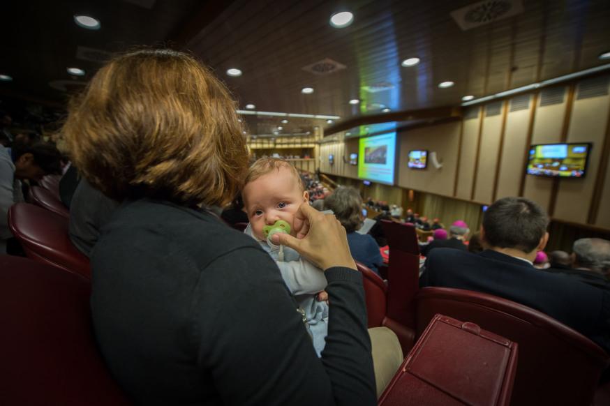 Niño en el sínodo