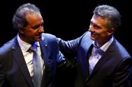 16/11/2015 –A siete días de la segunda vuelta electoral, los candidatos presidenciales Daniel Scioli y Mauricio Macri se midieron este domingo en un…