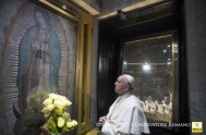 """14/02/2016 – """"Ha sido una jornada riquísima de contenidos, en discursos y en gestos que es con lo que más habla el Papa…"""