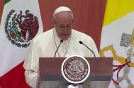 13/02/2016 – El Santo Padre remarcó en su primer discurso en México que la mayor riqueza que tiene este país son los jóvenes.…