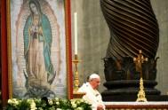 """11/02/2016 –""""Voy a México porque siento que la Señora me llama"""". El Papa Francisco hacía referencia a la Virgen de Guadalupe. Lo dijo…"""