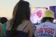 Mensaje íntegro del Papa Francisco en la Vigilia de oración con los jóvenes en el Campus Misericordiae  Queridos jóvenes, Es bueno…