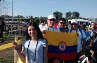 29/207/2016 -Desde Campo Blonia los jóvenes se vuelven a congregar para reencontrarse por segunda vez con el Papa Francisco. Lorena Ojeda, colombiana, compartió…
