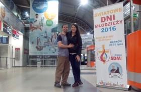 27/07/2016 -Ellos son Natalí Jara y Jona Garnier son de Concepción del Uruguay, Entre Ríos. Ellos se casaron el 4 de junio de este años y decidieron que su Luna de miel…