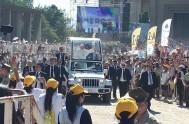 18/01/2018 – En elSantuario Nacional de Maipú el Papa Francisco, en un marco de festividad, tuvo su cita con los jóvenes chilenos. Al…