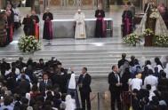 18/01/2018 – El Papa Francisco se reunió con los religiosos, consagrados y seminaristas en La Catedral de Santiago de Chile. La cita ocurrió…
