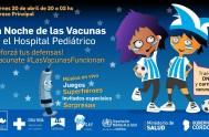"""18/04/2018 –El próximo viernes (20 de abril), en el hospital Pediátrico de la ciudad de Córdoba se realizará la cuarta edición de """"La…"""