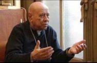 05/07/2018 – Fue durante una nueva homilía escrita por el Obispo Emérito de Viedma quien hoy tiene 95 años Monseñor Miguel Esteban Hesayne,…