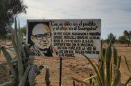 06/08/2018 – Ayer a la vera de la ruta de Punta de Los Llanos, el lugar donde Monseñor Angelelli fue asesinado el 4…
