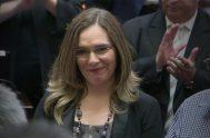07/08/2018 – La senadora nacional por Santa CruzMaría Belén Tapiareiteró que mañana votará en contra del proyecto con media sanción de Interrupción Voluntaria…