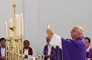 22/11/2018 –Monseñor Olivera elevó su ruego durante la misa de acción de gracias por la aparición del submarino y para pedir por el…