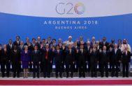 03/12/2018 –El encuentro internacional puso una vez más en evidencia las profundas contradicciones en el ambiente político internacional actual. La Cumbre de las…
