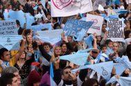 29/05/2019 – El abortismo argentino se movilizó ayer una vez más en distintos puntos del país para darle fuerza a la presentación de…