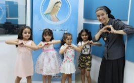Para celebrar el tercer aniversario de Radio Mariam en Erbil, que coincide con la fiesta de la Asunción de la…