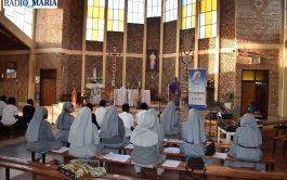 El santuario de Nuestra Señora de Kibeho fue durante abril, mayo y junio, el lugar de oración para la Mariathon…