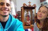 14/01/2019 – Luana y Agustín pertenecen al grupo de Infancia y Adolescencia misionera de la Parroquia María Auxiliadora en Santa Fe. Allí,viven la…