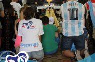 23/01/2019 –Los argentinos que están presentes en Panamá con motivo de la Jornada Mundial de la Juventud se encontraron ayer, martes 22 de…